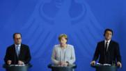 François Hollande Angela Merkel Matteo Renzi Brexit
