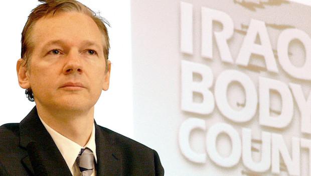 Julian Assange, le fondateur de Wikileaks, le 23 octobre 2010