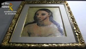 Un Picasso saisi en Corse, de retour en Espagne sous haute surveillance