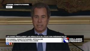 Hollande élu président de la République avec 51,6% des voix
