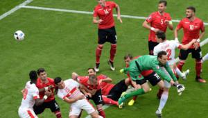 Les Suisses, favoris, ont fait honneur à leur statut contre l'Albanie.