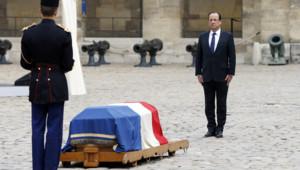 Les ténors de la classe politique étaient présents ce mardi pour rendre un dernier hommage à Pierre Mauroy.