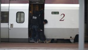 Thalys Rotterdam arrestation suspect homme enfermé