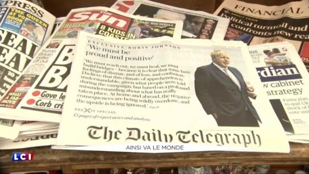 """Brexit : """"Keep calm"""", le mot d'ordre des Britanniques qui exaspère les Européens"""