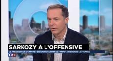 """Interview de Sarkozy dans Le Figaro : """"Il était combatif"""", selon l'un des journalistes"""