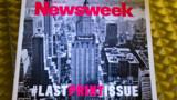 Newsweek devrait revenir au papier en 2014 après un an de tout numérique