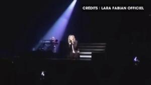 Attentats à Bruxelles : l'hommage de Lara Fabian lors de son concert à Marseille
