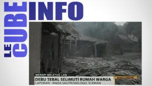 Cube Info 05/11 : Eruption meurtrière du volcan Merapi