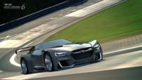 Le concept virtuel sportif de Subaru spécialement développé pour Gran Turismo 6 : le Viziv GT.