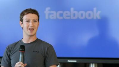 Mark Zuckerberg, le PDG-fondateur de Facebook.