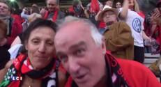 """""""On est les meilleurs ! """" Les supporteurs toulonnais fêtent la victoire contre Clermont"""