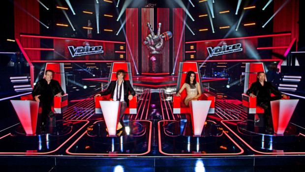 Garou Louis Bertignac Jenifer Florent Pagny The Voice 