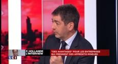 """Interview de Hollande : les Français """"ont été trompés"""""""