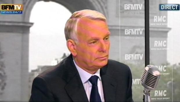 Jean-Marc Ayrault s'exprime sur BFMTV RMC vendredi 1er juin 2012
