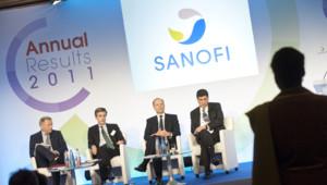 Lors de la publication des résultats annuels 2011 de Sanofi, le 8 février 2012.