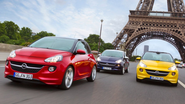 Opel Adam 2012 Paris