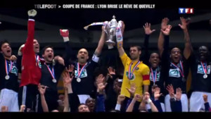 Finale de la Coupe de France : Lyon-Quevilly
