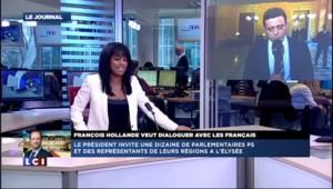 """Dîner à l'Elysée: le député PS Hammadi souhaite """"un échange de proximité"""""""