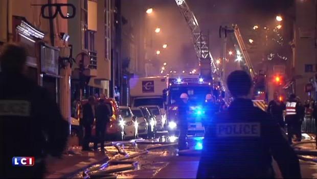 Incendie rue de Charonne : un entrepôt de textile parti en fumée, deux blessés légers