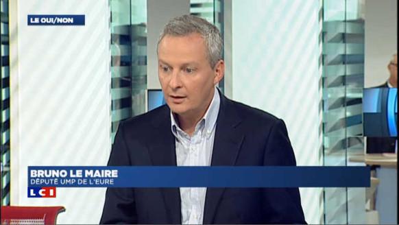 """Le Maire : """"Valls a raison de faire respecter la loi républicaine"""""""