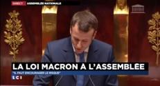 """Loi Macron à l'Assemblée : """"Justice et transparence pour lutter contre la défiance"""""""