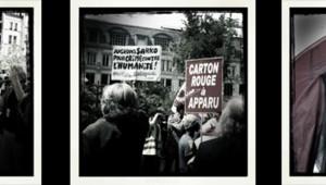 Manifestation de personnels de l'urgence sociale et de mal-logés, Paris, 2/8/11