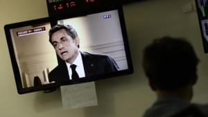 Sarkozy television
