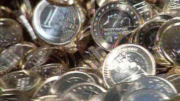 argent euros pièces monnaie