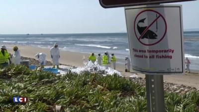 Etats-Unis : une immense marée noire se répand en Californie