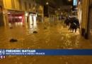 """Intempéries : """"Il est tombé 107mm d'eau en une heure à Cannes, c'est un record absolu"""""""