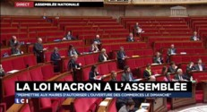 """Loi Macron à l'Assemblée : """"Permettre d'autoriser l'ouverture des commerces le dimanche"""""""