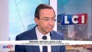 """Retailleau (LR) sur les cadeaux de Hollande : """"Gouverner, ce n'est pas faire du troc"""""""