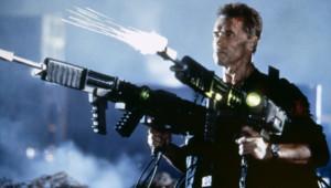 Arnold Schwarzenegger dans le film L'Effaceur