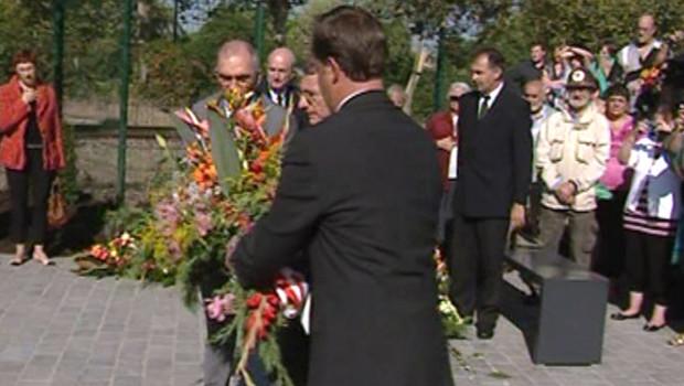 Commémoration du 7e anniversaire de l'explosion de l'usine AZF à Toulouse (21 septembre 2008)