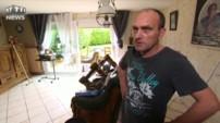 Dans le Pas-de-Calais, un homme en larmes suite à la très rapide montée des eaux
