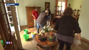 Inondations en Pyrénées-Atlantiques : les habitants constatent les dégâts