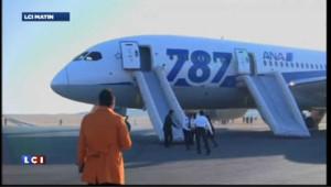 Les Boeing 787 sont cloués au sol suite à des dysfonctionnements rencontrés sur les batteries de l'avion.
