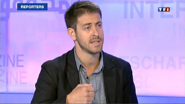 Roméo Langlois, correspondant de France 24 (image d'archives)
