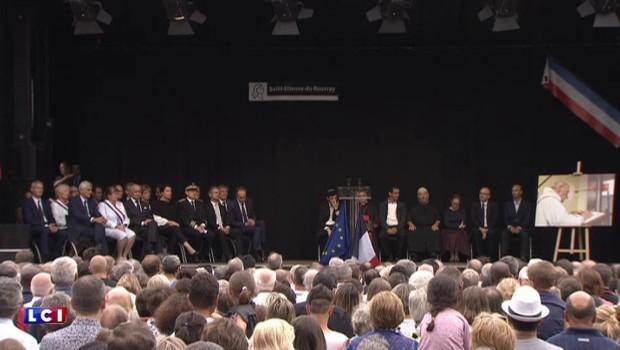 Saint-Étienne-du-Rouvray : la chanson d'hommage au prêtre tué dans une église