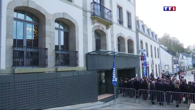 Bretagne : après 3 ans de travaux, Pont-Aven inaugure son musée