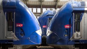 Des trains régionaux à Lille.