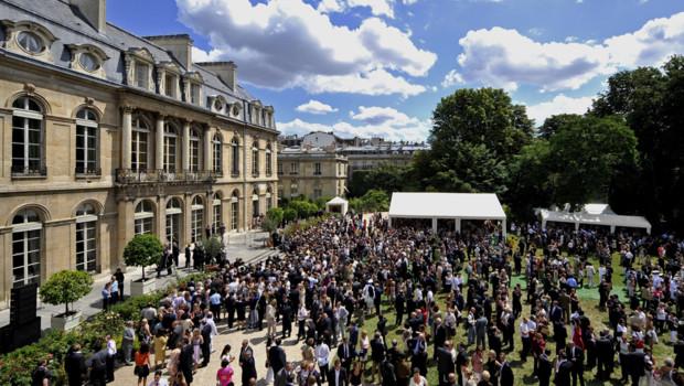 garden-party Elysée