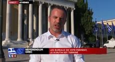 """Référendum grec : les premières estimations donnent le """"non"""" en tête"""