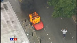 Troisième jour d'émeutes à Londres