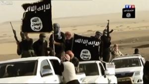 Un camp de formation de jihadistes en Syrie (image de propagande)