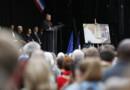 Un hommage solennel a été rendu au père Hamel, le 28/07/16 dans un stade omnisports de Saint-Etienne-du-Rouvray