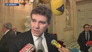 Arnaud Montebourg, réac après l'annonce sur Goodyear 22/01/2014