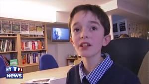 """La question d'un enfant à Hollande : """"Que feriez-vous avec les pouvoirs d'Harry Potter ?"""""""