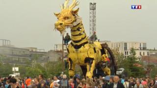 Nantes : les animaux fantastiques de Royal de Luxe