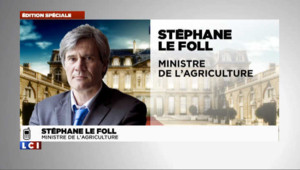 Le Fol a appris sa nomination par Hollande mercredi à 16h00